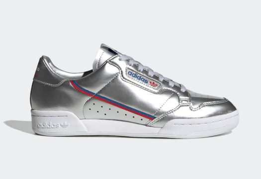 adidas Continental 80 Silver Metallic FW5350 Release Date Info