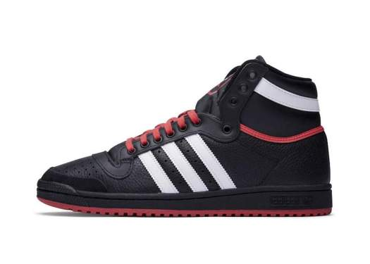 adidas Top Ten Hi Black White Red EF6365 Release Date Info