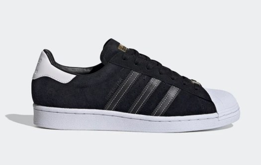adidas Superstar Black White Gold EH1543 Release Date Info