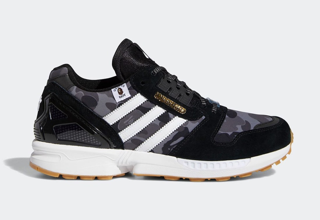BAPE Undefeated adidas ZX 8000 FY8852 Release Date Info   SneakerFiles