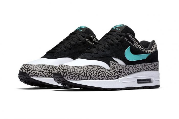 Nike Air Max 1 Atmos X Jordan In Medium GreyClear Jade