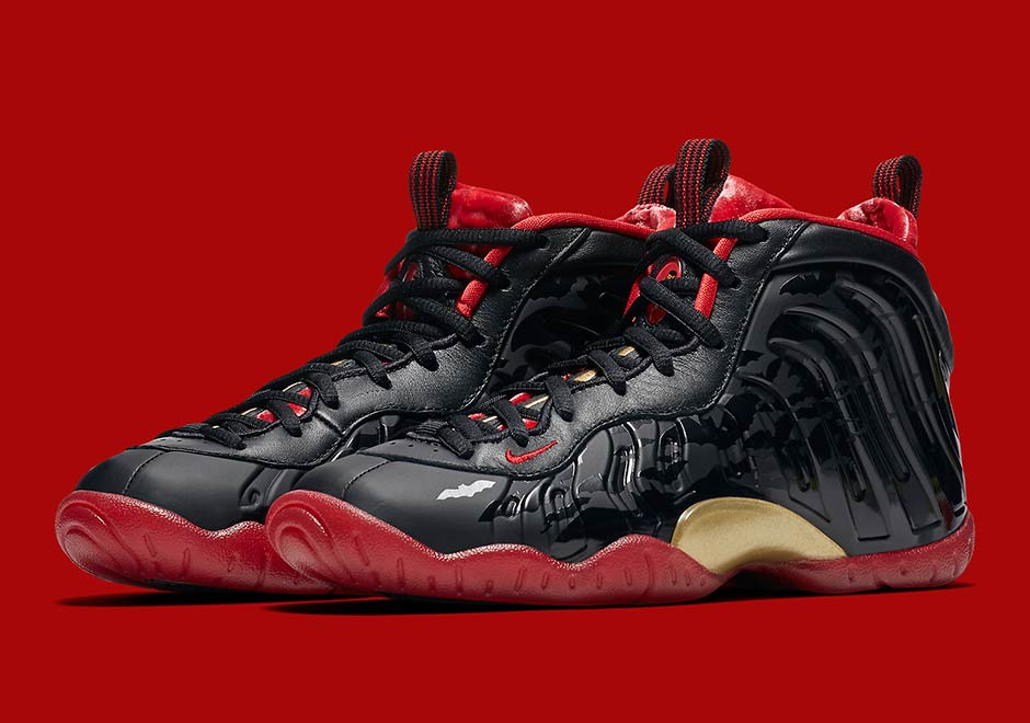 The Nike Lil Posite One Foamposite Vamposite Halloween Release Info!