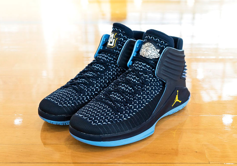 Georgetown & Marquette Universities Give Us A Look At There Jordan 32 PEs For This Season!