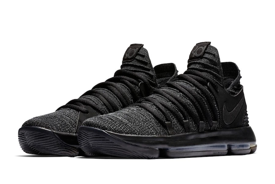 The Nike KD10 Triple Black Is Set To Release On November 1st!