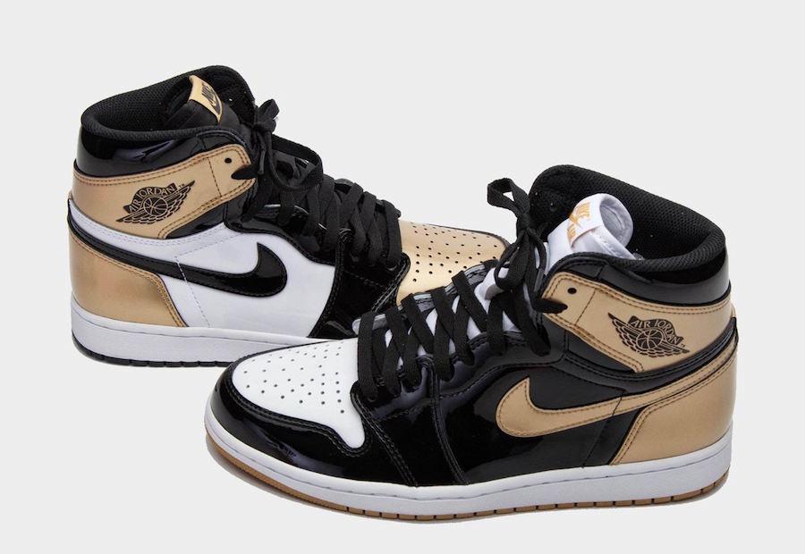 The Air Jordan 1 Retro High OG NRG Gold Top 3 Will Be Releasing ...