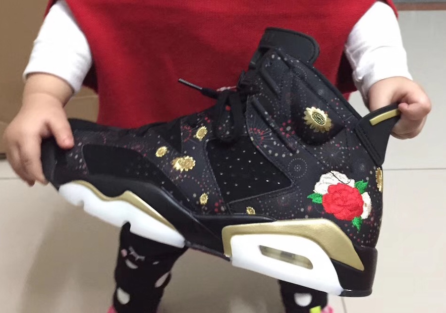 online store e3601 7afcf The 2018 Air Jordan 6 CNY Aka Chinese New Year Surfaces ...