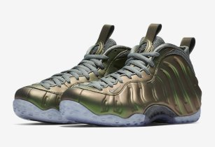 Nike Drops Official Images Of The Nike Foamposite One Shine Along With Release Date!