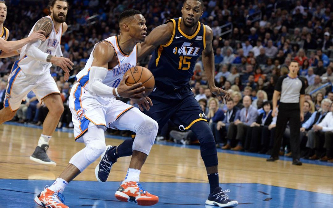 OKC Wins After A Thunderous Comeback Down 17 Points Against The Jazz (100-94)