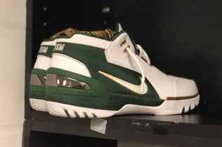 Lebron James Wears The Upcoming SVSM Nike Lebron Zoom Generation!