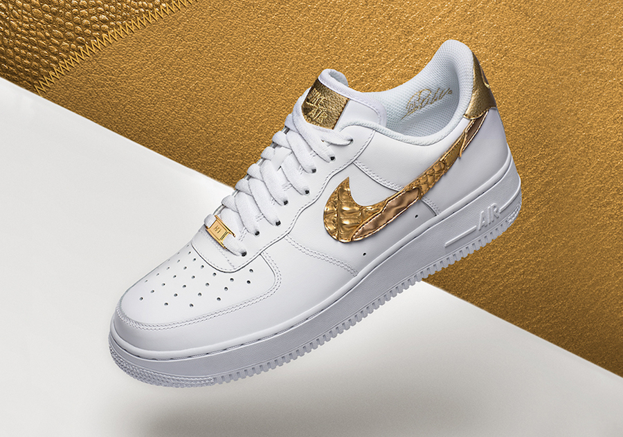 super popular 0a2ba 6897f The Nike Air Force 1 Low CR7 Golden Patchwork Drops On January 11th!