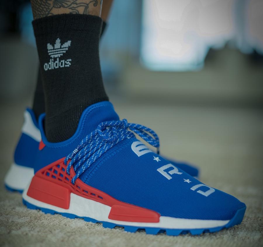 Pharrell x N.E.R.D. Adidas NMD Hu Nerd