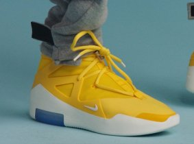 6c7fa38a2b5 The Nike Air Fear Of God 1 Surfaces In A Yellow Colorway!