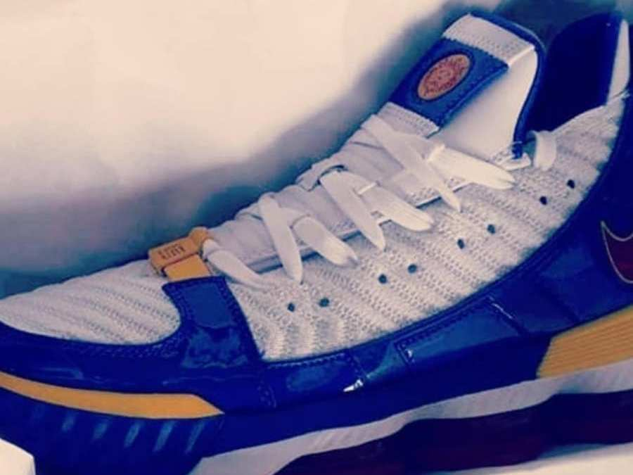 8100b9701cb The Nike Lebron 16 SB Superman Leaks!