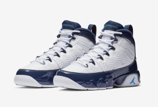 Official Images Of The Air Jordan 9 UNC All-Star University Blue & Midnight Navy Have Arrived!