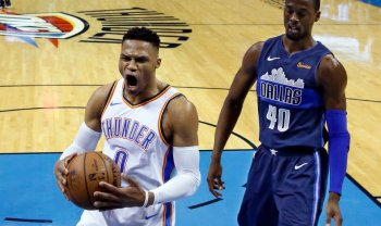 Russell Westbrook's 10th Triple-Double Helps OKC Defeat The Mavericks (122-102)