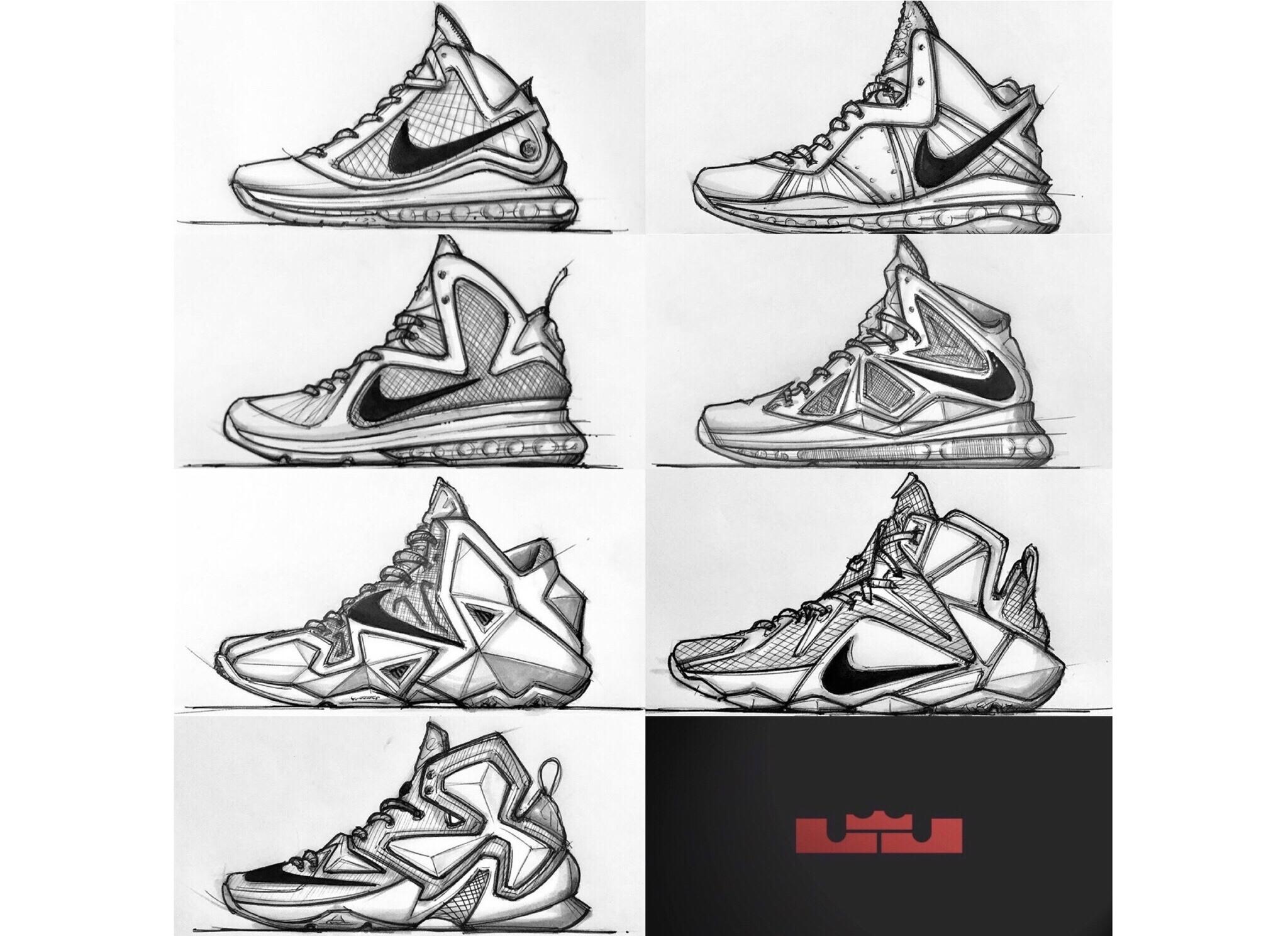 Ranking Lebron's 17 Signature Sneakers