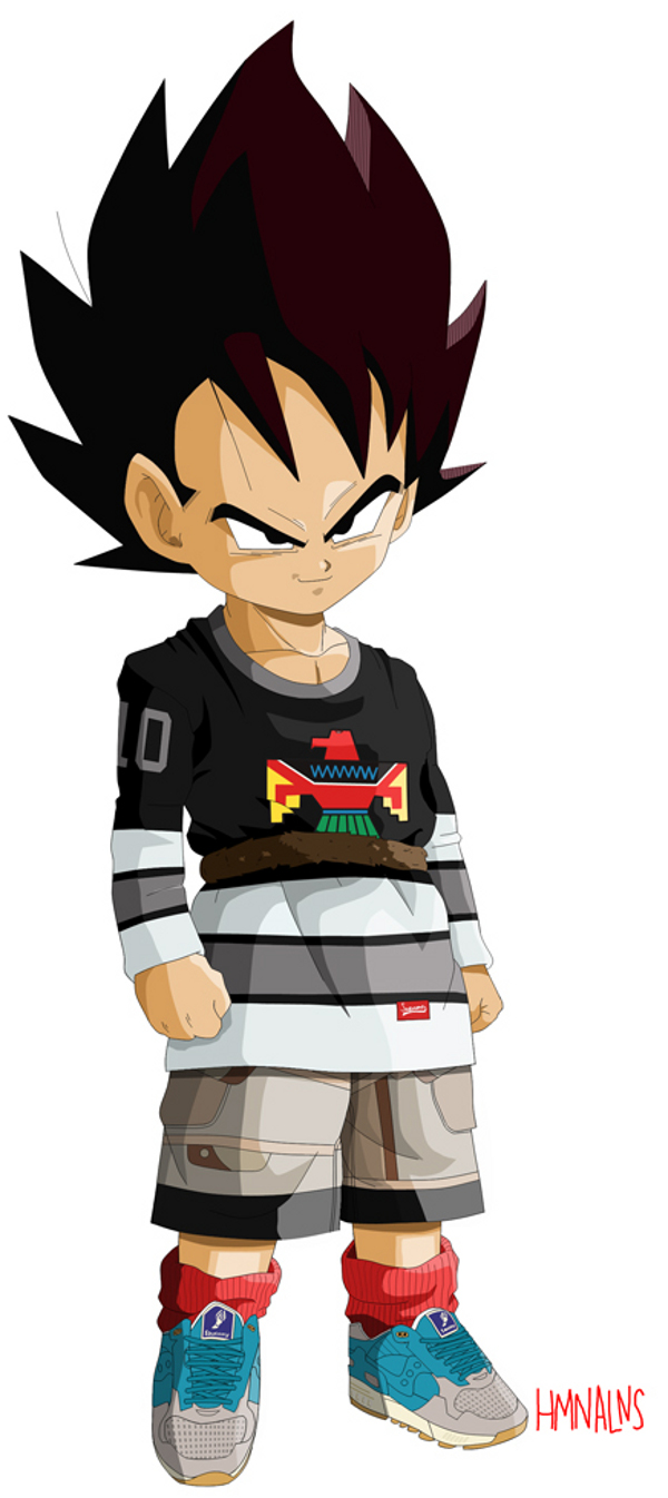 a167a6beff270a Dragon Ball Z X Hmn Alns Part 2 Hypebeast Free Coloring Pages ...