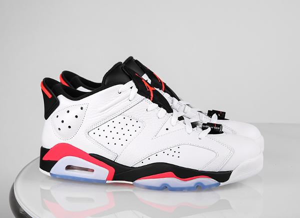 Air Jordan 6 Low White Infrared 23 O Lacheter