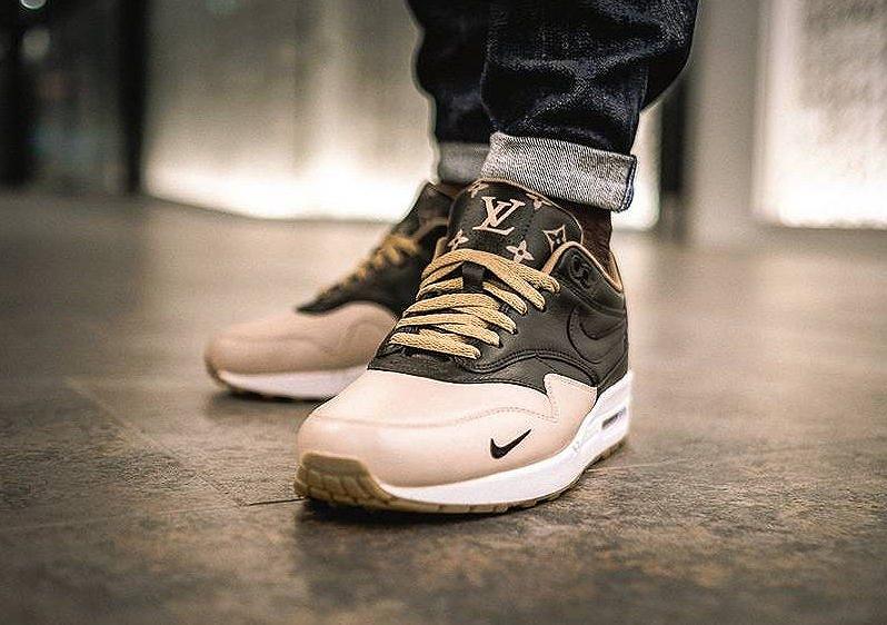 Louis Vuitton x Nike Air Max 1 Mini Swoosh  Sneakersactus