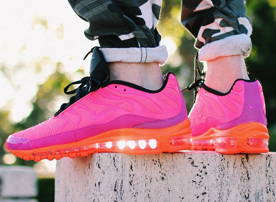 4a90ba2491 air max 97 plus racer pink on feet review o 249 trouver la nike air max