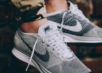 """sepatu sneakers, gambar sepatu, model sepatu terbaru, harga sepatu, online shop sepatu, sepatu keren, sepatu laki laki, koleksi sepatu, sneaker wedges, sepatu online shop, sepatu online original, sneakers original, toko online sepatu, sepatu sneakers murah, gambar sepatu terbaru, jual sneakers, Nike Flyknit Racer """"Pure Platinum"""""""