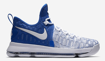 "Nike KD 9 ""Home II"" White/Varsity Royal-White"