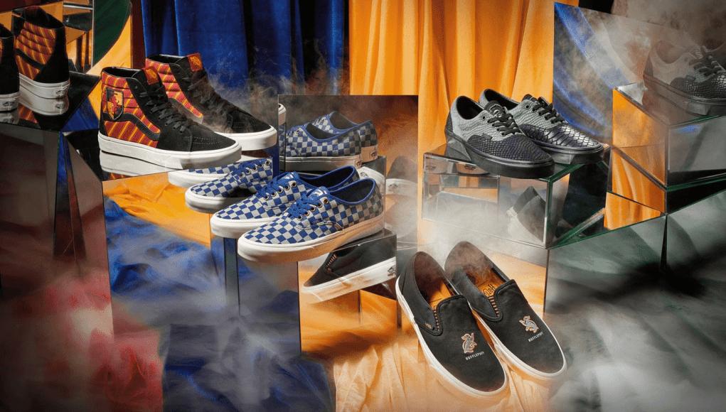 gambar sepatu Vans x Harry Potter