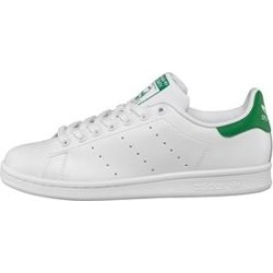 adidas Originals Mens Stan Smith Trainers White/Green