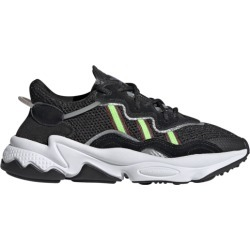 adidas Ozweego Running Shoes - Black/Solar/Green