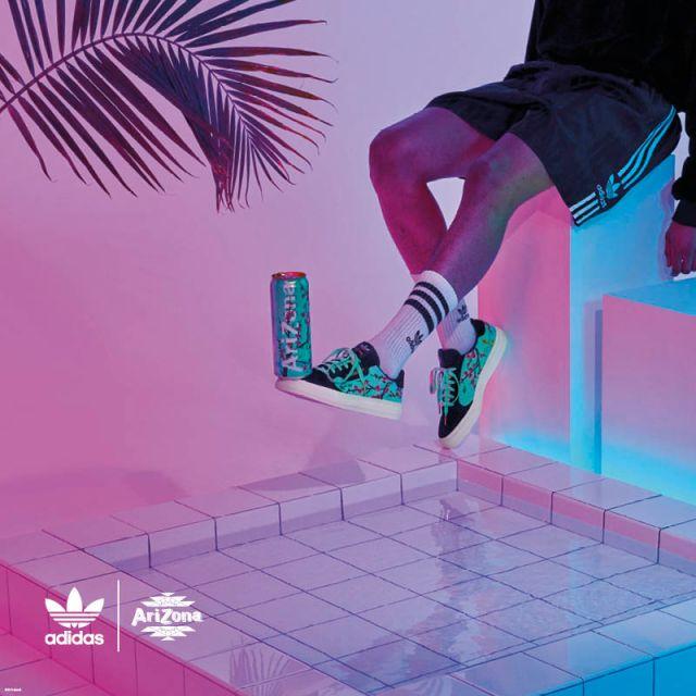 adidas Originals Berkolaborasi dengan AriZona Iced Tea