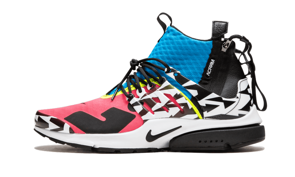 Nike Air Presto MID/Acronym 'Acronym - Racer Pink' Shoes - Size 10