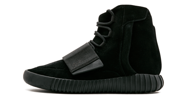 Adidas Yeezy 750 Boost 'Triple Black' Shoes - Size 10
