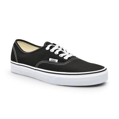 Vans U Authentic Sepatu Sneaker Pria - Black