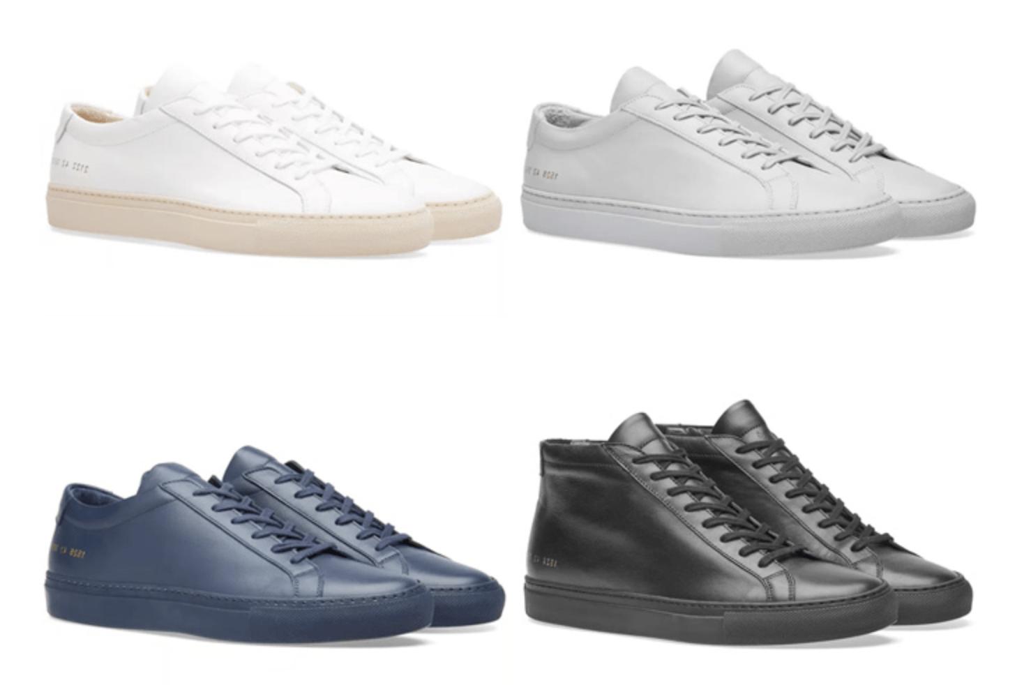 Sepatu Luxury Sneakers Common Project Terbaik