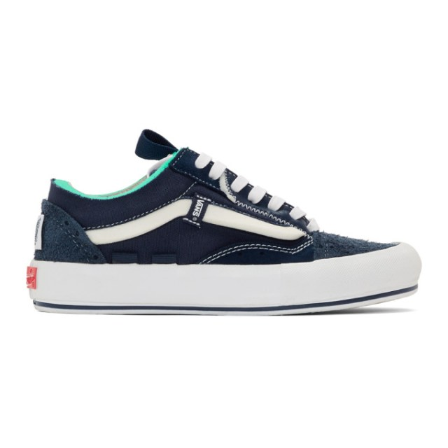 Vans Blue Regrind Old Skool Cap LX Sneakers