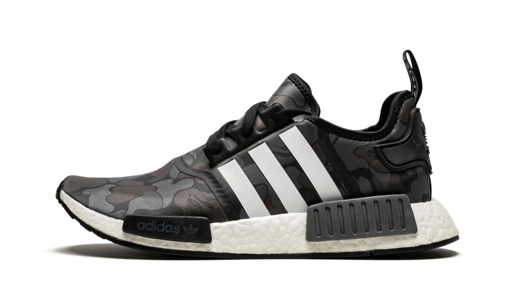 Adidas NMD R1 'Bape - Black Camo' Shoes - Size 5