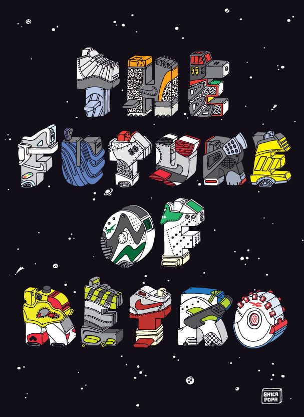 Nike Animated Wallpaper Les Illustrations De Sneakers De Ghica Popa Sneakers Fr