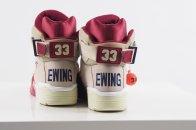 Ewing 33Hi cream/burgundy