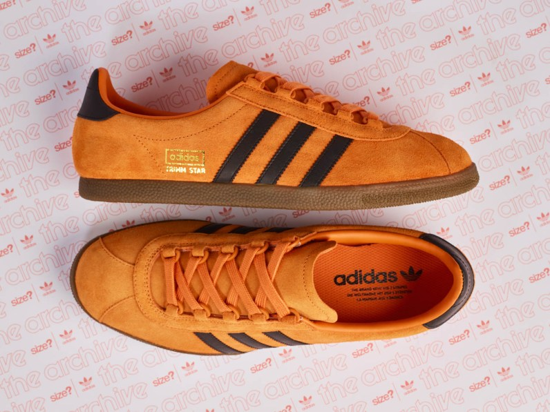 size? Exclusive adidas Originals Archive Trimm Star 'Pumpkin'