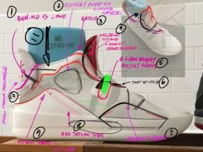 Air Jordan XXXIII - diseños