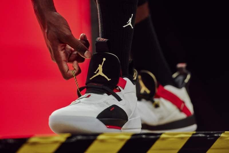 Jordan XXXIII - apretar