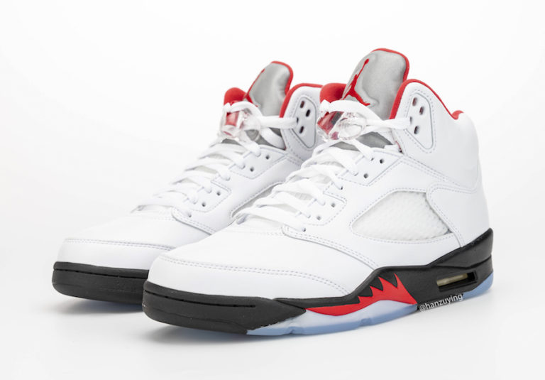 Air Jordan 5 'Fire Red'March 28, 2020