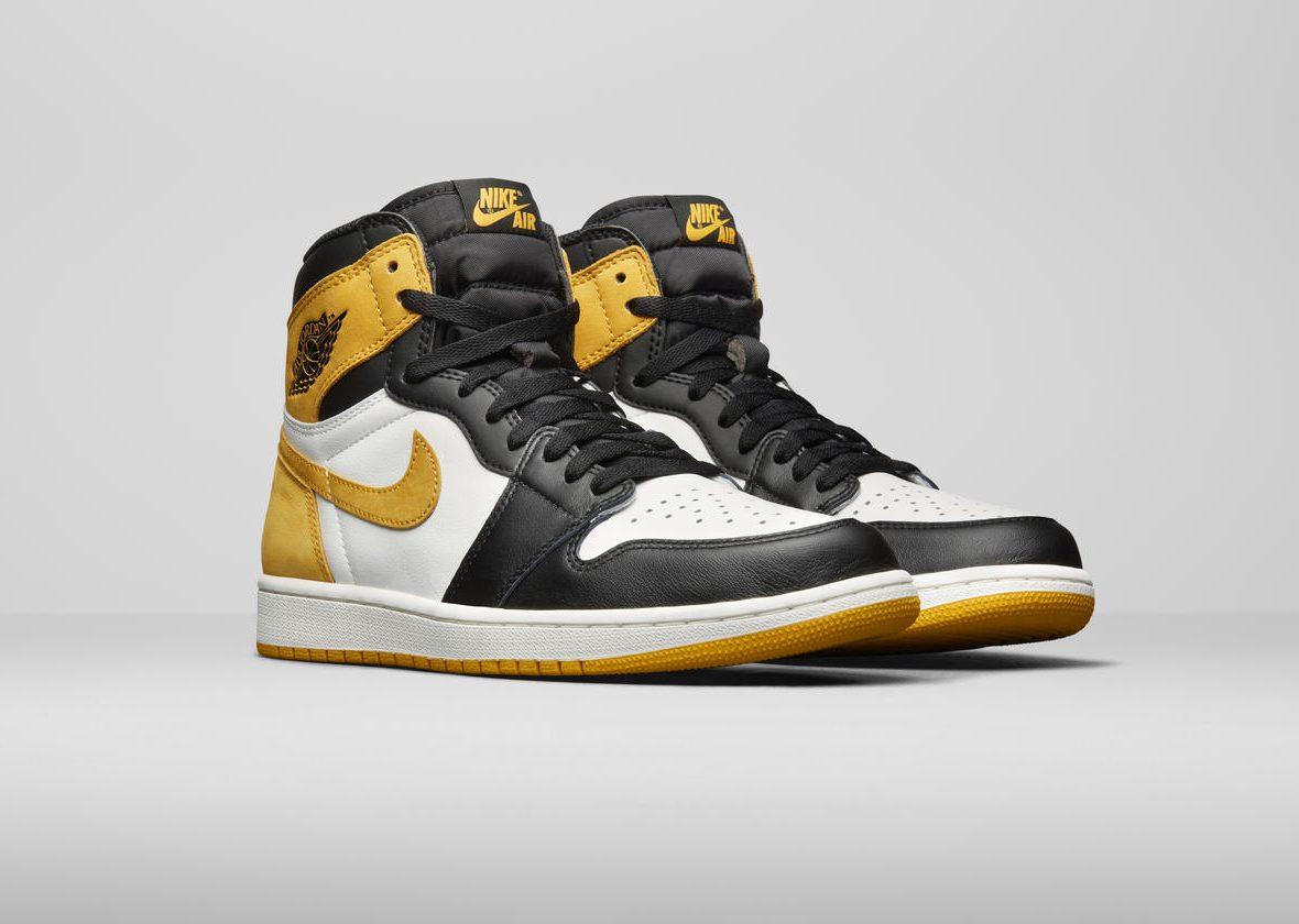 Release Date: Air Jordan 1 High 'Yellow Ochre'