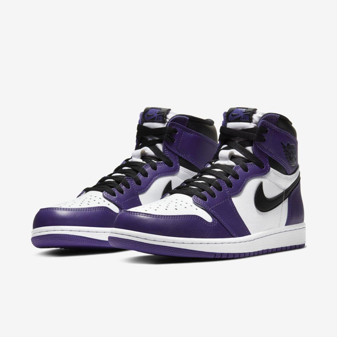 Air Jordan 1 High OG 'Court Purple'April 11, 2020