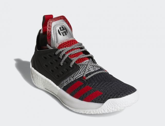 Release Date: adidas Harden Vol. 2 'Black/Scarlet/Red'