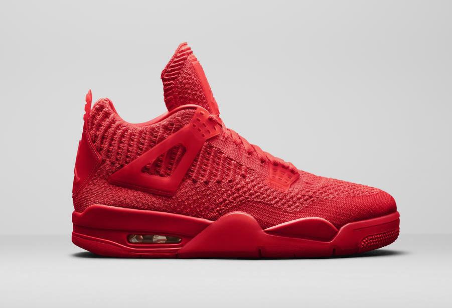 Air Jordan 4 Flyknit 'University Red