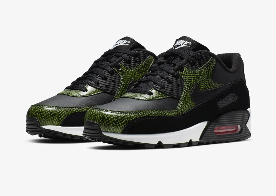 Nike Air Max 90 'Green Python'June 13, 2019