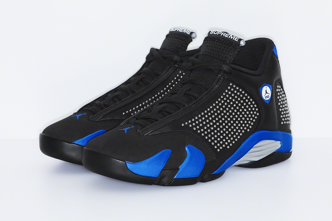 Supreme x Air Jordan 14 'Black/Varsity Royal'June 13, 2019