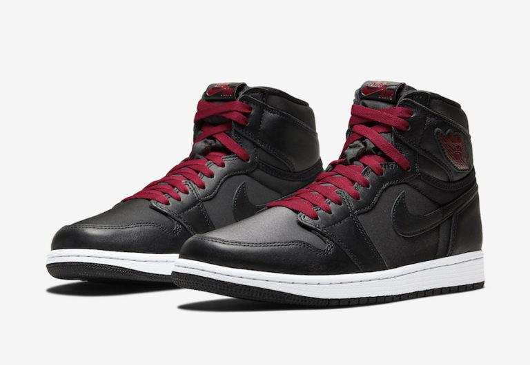Air Jordan 1 High 'Black Satin'January 18, 2020