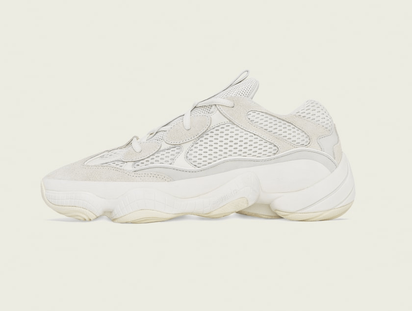 adidas Yeezy 500 'Bone White'August 24, 2019